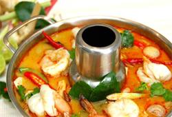 the beach restaurant bang saray - tom yam kung